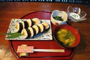 Aula de Sushi em Quioto