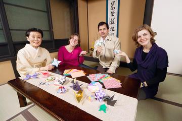 Experiencia cultural para grupos pequeños por Kioto: clase de...