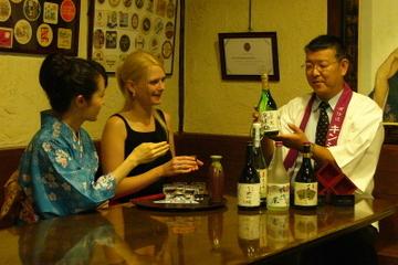 Sake-Brauereitour mit in kleiner Gruppe mit Sake-Verkostung, Kyoto