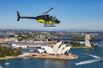 20-minütiger Hubschrauberrundflug...