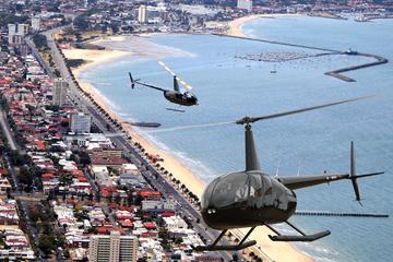 Tour en helicóptero por Melbourne...