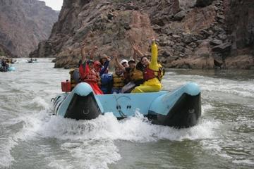 Rafting en eaux vives au Grand Canyon, au départ de Las Vegas