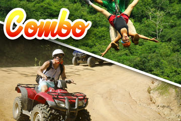 CANOPY and ATV COMBO TOUR 1 ATV with single rider and 1 canopy