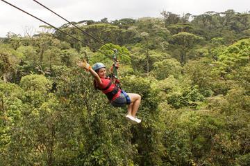 Excursão 6 em 1: Aventuras pela floresta tropical da Costa Rica