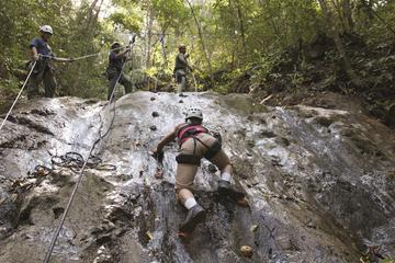 Waterfall Climb and Zipline Adventure