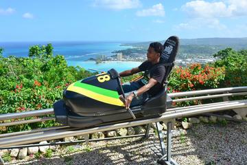 Recorrido de bobsledding de Jamaica desde Montego Bay