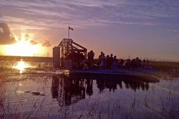 Excursão noturna em aerobarco pelo...