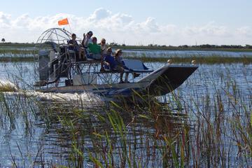 Excursão particular: passeio de aerobarco no Everglades (Flórida) e...