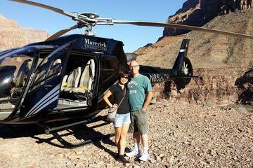 Helikoptertur til Grand Canyon West Rim med landing