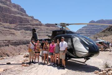 Passeio de helicóptero pelo Grand Canyon partindo de Las Vegas
