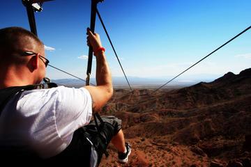Excursion et tyrolienne à Bootleg Canyon