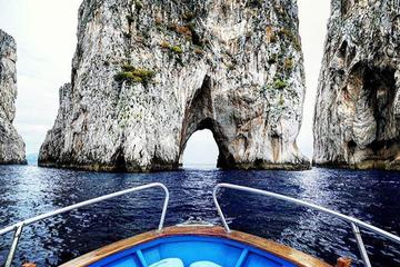 Capri Island Boat Ride with Swimming, Sights, and Limoncello