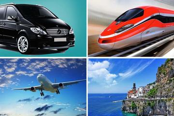 Private Transfer: From Amalfi (hotel) to Rome (hotel-airport-railway station)