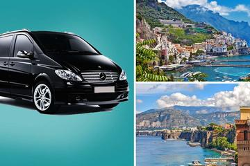 Private Transfer: From Amalfi to Sorrento with hotel pick-up and drop-off
