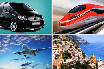 Private Transfer: From Positano (hotel) to Naples (hotel-airport-train station)