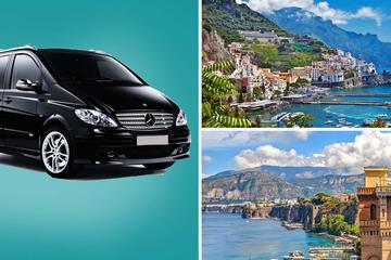 Private Transfer: From Sorrento to Amalfi with hotel pick-up and drop-off