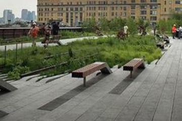 Recorrido a pie por High Line Park de Nueva York