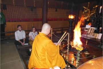 Experience Shakyo and Goma-gyo  at Miyajima Misen Daihonzan Daisho-in