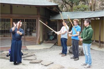Experience Shodo and Kendo at Miyajima Misen Daihonzan Daisho-in (including samurai lunch)