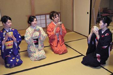 Genuine tea ceremony experience plan