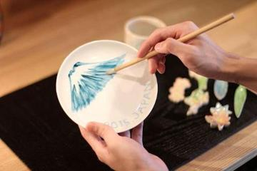 Kyoto Zuikogama : Painting vessel experience
