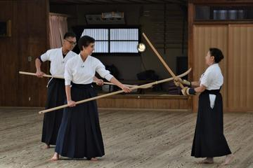 Learn the art of self-defense of samurai in the Edo Period from the acting master of Tendo-ryu