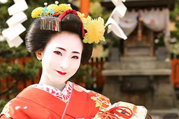 Maiko Makeover experience Walking plan in Kyoto