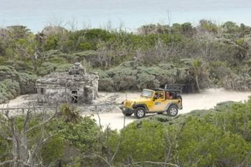 Excursión de Cozumel en jeep y aventura de buceo