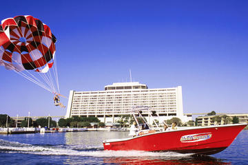 Parasailing at Disney's Contemporary...
