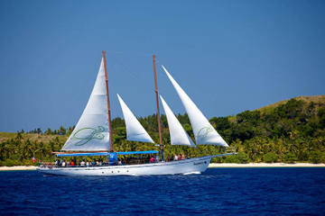 Segeltour der Fidschi Mamanuca-Inseln...