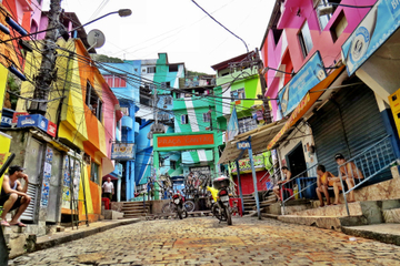 Combo de excursão no Rio de Janeiro: Santa Teresa, Corcovado e favela...