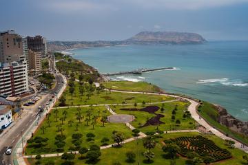 Visite en vélo en petit groupe sur la côte de Lima