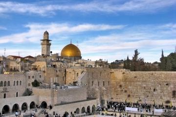 Destaques da excursão de um dia em Israel: Jerusalém e Mar Morto