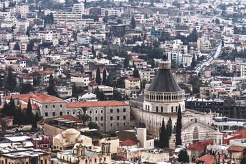 Excursão de um dia de Jerusalém, Tiberíades e Mar da Galileia saindo...