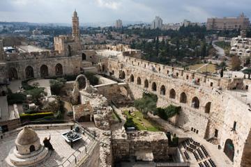 Excursión de un día desde Tel Aviv a la Ciudad de David y Jerusalén...