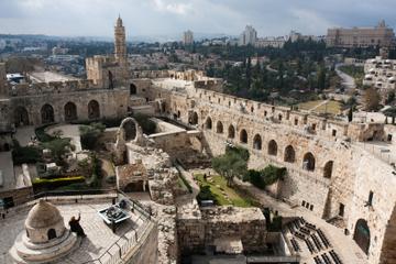 Excursion d'une journée dans la Cité de David et la cité souterraine...