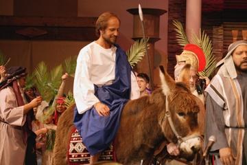 Palmsonntag in Jerusalem: Gottesdienst im Bethphage und Via...
