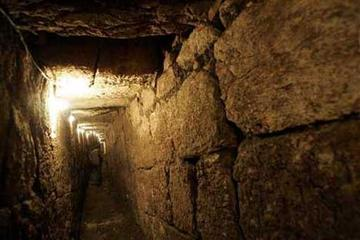 Stad van David en een ondergrondse ...