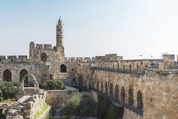 Tel Aviv Super Saver: Old and New Jerusalem Day Tour plus City of David and Underground Jerusalem Day Tour