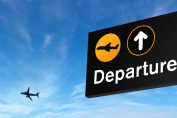 Trasferimento con mezzi privati alla partenza dall'aeroporto Ben