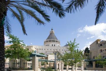 Viagem diurna à Nazaré, Tiberias e o Mar da Galiléia saindo de...