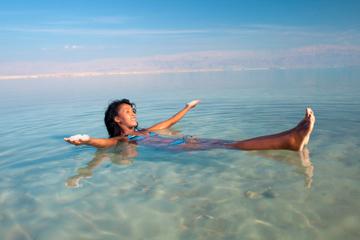 Viaje de bienestar y balneario al mar Muerto desde Tel Aviv