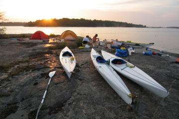3-tägige Stockholmer Schären mit dem Kajak und Camping Tour