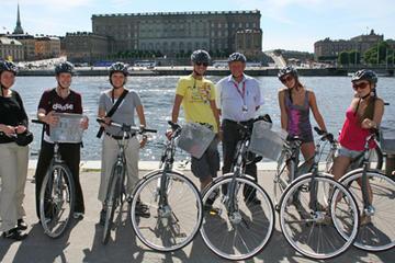Fahrradtour durch Stockholm