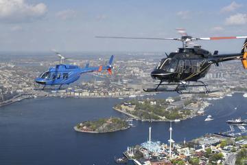 Recorrido en helicóptero sobre el archipiélago y Estocolmo