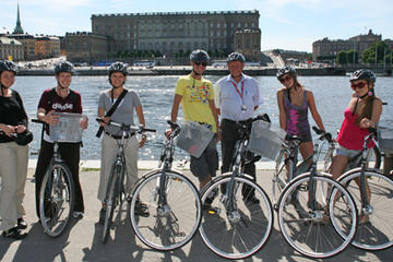 Visite de Stockholm en vélo