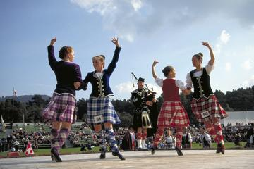 Viagem diurna de Edimburgo para os Scottish Highland Games