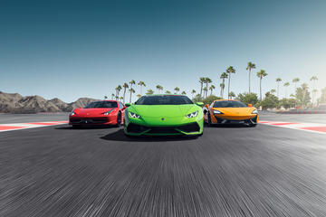 Experiência com carro esportivo em Los Angeles