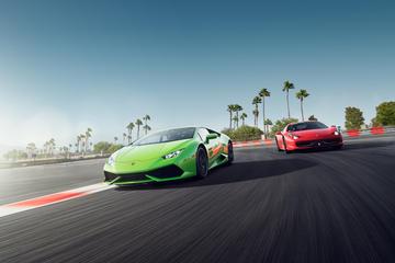 Los Angeles exotische Sportwagen-Fahrt