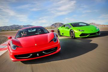 Paquete de conducción de coches exóticos en Las Vegas